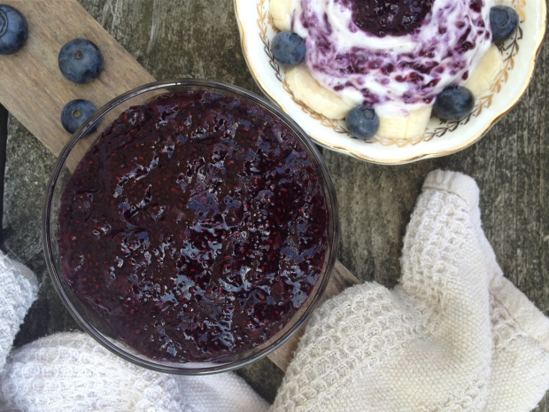 Homemade Blueberry Chia Seed Jam